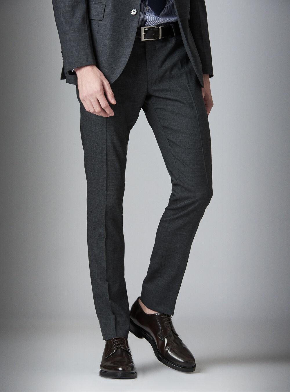 100% autentico rilasciare informazioni su nuovi prodotti Pantaloni da abito in fresco lana | Gutteridge - PA196GUSS20