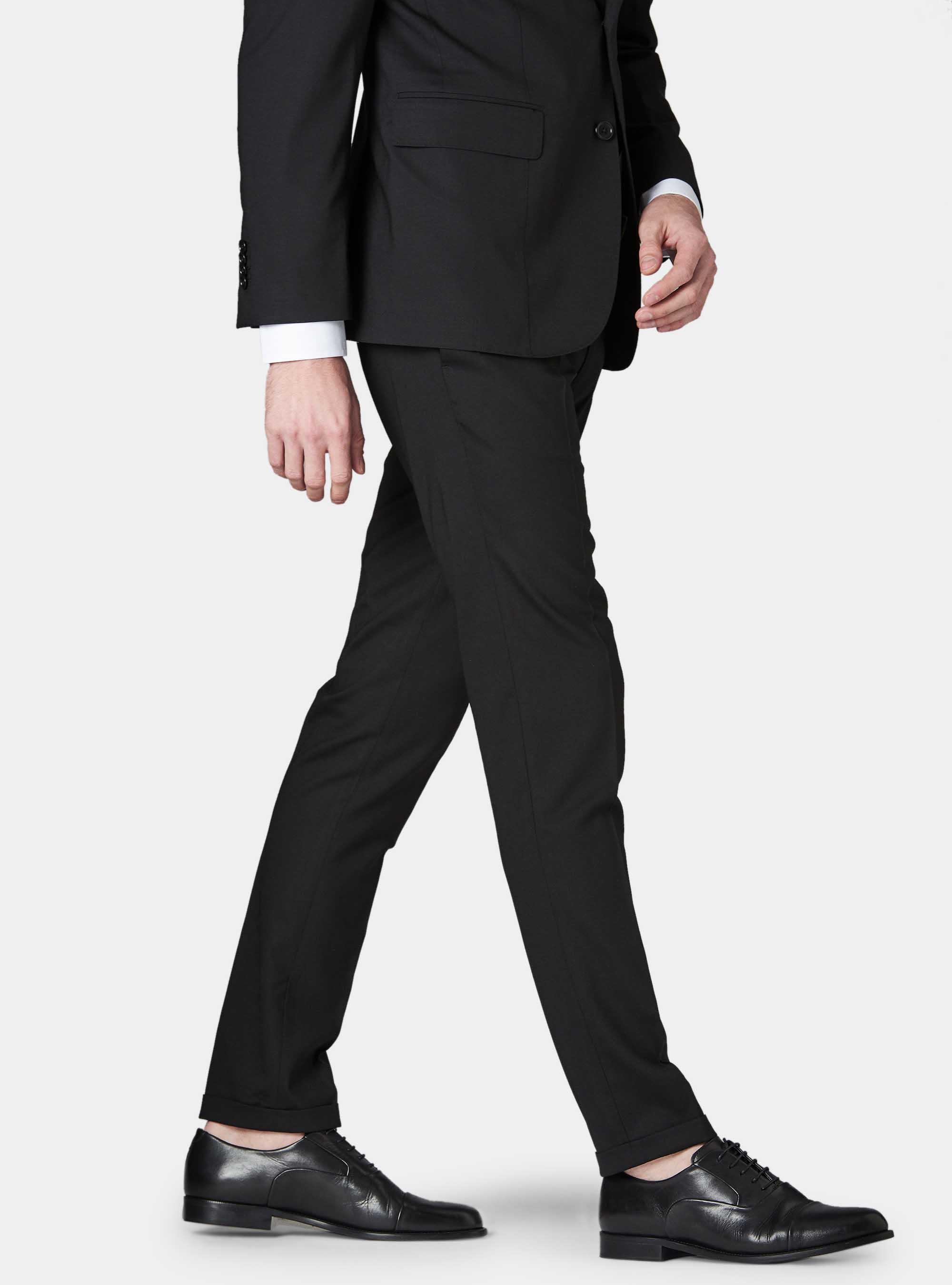 più tardi stile squisito negozio outlet Pantaloni da abito in fresco lana | Gutteridge - 95268006